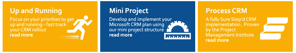 3 Microsoft Dynamic CRM Implementation Package Options