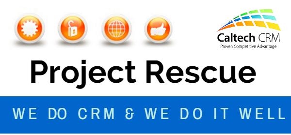 CRM Project Rescue Process