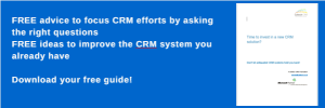 Benefits of implementing CRM