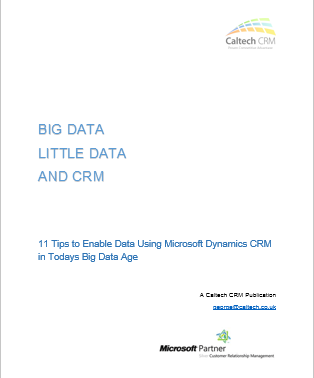 Big Data and CRM solutions
