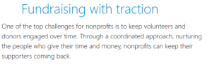 Not for Profit CRM Example