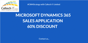 Microsoft Dynamics 365 Sales Application Discount