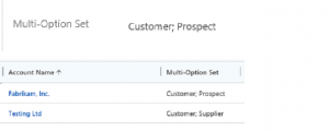 Multi-Select Option Sets in Microsoft Dynamics 365