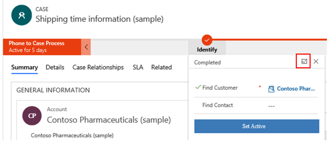 Dynamics 365 unified interface shipping example