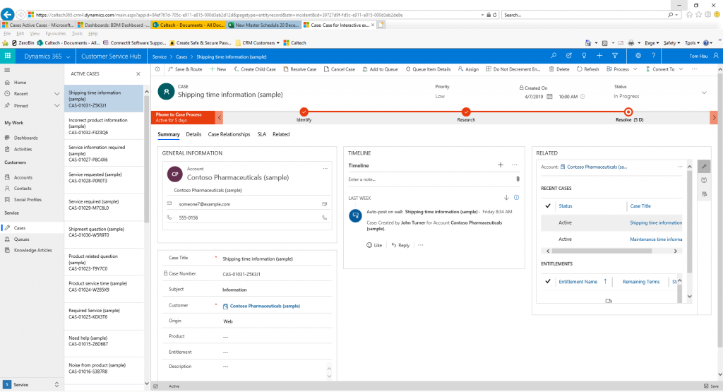 Dynamics 365 unified interface active records